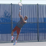 Red Demons host Tennis Invitational