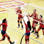Red Demon Volleyball host Home Quad