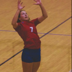 Red Demons volleyball team opens conference play with win