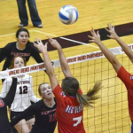 Red Demons Volleyball struggles ahead of Sub-State
