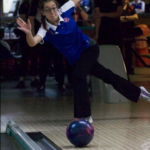 Girls varsity team takes first in Bowling triangular